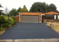 Latest rubber driveway resurfacing