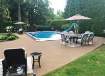 cement pool deck resurfacing Surrey