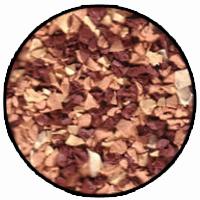 sahara orange colour rubber mulch